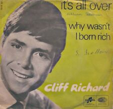 ++CLIFF RICHARD it's all over/why wasn't i born rich SP 1967 COLUMBIA VG++