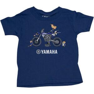 Factory Effex Toddler Yamaha T-Shirt (Blue) Choose Size
