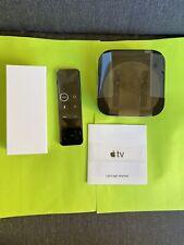 Apple TV 32GB 4K HD HDR Media Streamer Black MQD22LL/A