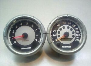 2005 Ski-Doo MXZ x 800 HO Speedometer & Tachometer Speedo Tach Gauges Instrument
