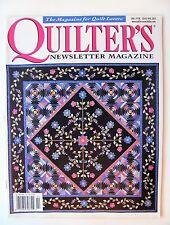 Quilter's Newsletter Magazine Jan / Feb 2005 No. 369 Quilt Quilting