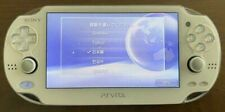 SONY PS Vita PCH -1000 White Used Console Only+memory card conversion adapter FS
