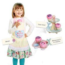 7tlg. Kinder Kuchenback Spielset Backset Kinderbackset Etagere Kinderküche
