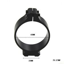 Hunting 40mm Barrel Ring With 20mm Rail Mount Scope Bases Sighting Clamp Mount