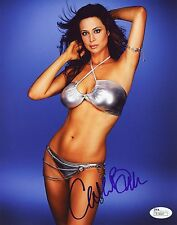 """CATHERINE BELL Authentic Hand-Signed """"JAG"""" 8x10 Photo (Stuff/FHM) (JSA COA)"""