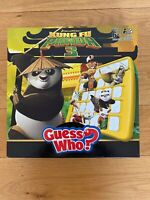 GUESS WHO Kung Fu Panda 3 Board Game HASBRO VGC And Complete