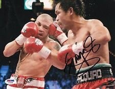 Manny Pacquiao *Pacman* autographed Boxing Champion 8x10 photo PSA/DNA Y72688