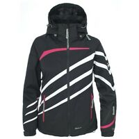 Trespass Women's Ski Jacket - Jeanie - TP100 Black - Small - RRP £149.99 - SALE