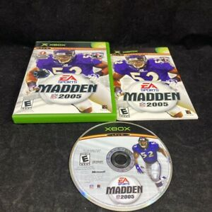 Madden NFL 2005, Complete in Case, Microsoft XBOX