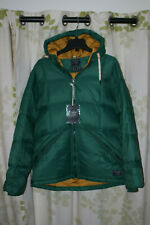 Abercrombie & Fitch Men's 600 Down Ultra Puffer Jacket Coat Hooded $220 NEW L