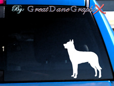 Beauceron -Vinyl Decal Sticker -Color Choice -HIGH QUALITY