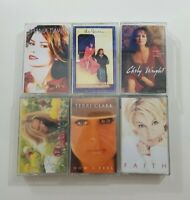 Female Country Artist Cassette Lot of 6 Titles SEE DESCRIPTION FOR TITLES