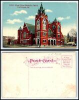 INDIANA Postcard - Fort Wayne - Wayne Street Methodist Church M7