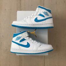 Nike Jordan 1 Mid UNC White / Carolina Blue BQ6472-114
