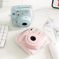 565F Transparent Case Cover Protective Bags For FujiFilm Instax Mini 8 Camera