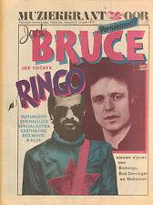 MAGAZINE OOR 1975 nr. 08 - JOE COCKER/JACK BRUCE/KRAFTWERK/RED, WHITE & BLUE
