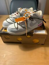 """Nike x OFF-WHITE Dunk Low """"The 50"""" Lot 22 of 50 