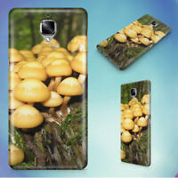 FOREST MOSS MUSHROOMS TREE STUMP HARD BACK CASE FOR ONEPLUS PHONES