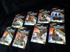 New Hot Wheels Gardians of the Galaxy Vol. 2 Marvel 8 cars Read Description
