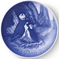 BING & GRONDAHL 2020 Mother's Day Plate B&G - New in Box - Puffin and Chick