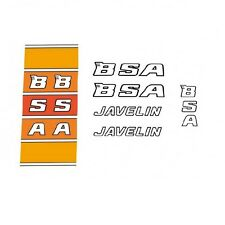 B.S.A. Javelin Bicycle Decals, Transfers, Stickers n.20
