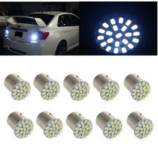 10x White 1157 BAY15D 22 SMD LED Bulbs Tail Break Stop Turn Signal Light Top