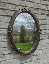 OIL RUBBED BRONZE COLOR WALL MIRROR (vanity mirror, bathroom mirror, entryway