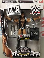 WWE Mattel Elite Scott Hall Ringside Exclusive figure WWF NEW damaged packaging