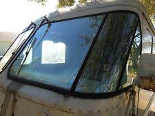 DRIVER SIDE ONLY..Rare Early SHORT Version Grumman Corner Step Van Window