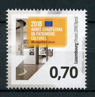 Luxembourg 2018 MNH European Year of Cultural Heritage 1v Set Cultures Stamps