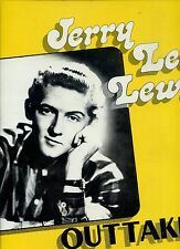 JERRY LEE LEWIS outtakes HOLLAND 1986 EX+ LP
