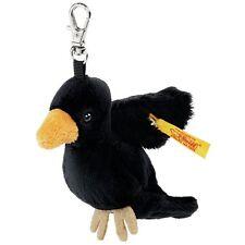 STEIFF Raven Keyring EAN 112355 9cm Handbag charm Black Soft toy child gift NEW