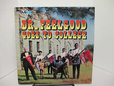 "SIGNED by PIANO RED +3! ""Dr. Feelgood Goes to College"" LP RARE Master Sound Funk"