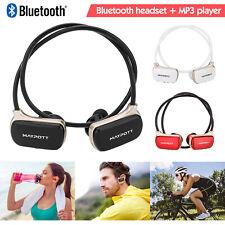 Sports Wearable Mp3 Player Ipx4 Waterproof Bluetooth Headset earphone 8H Music