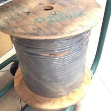 1000 FT Spool General Cable C0746.41.10 Gray Foil Shielded Cable 24Awg 15C 7/32