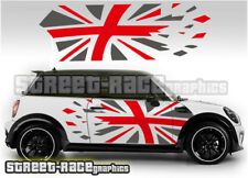 Mini side 018 Union Jack flag vinyl stickers decals graphics Fits all Minis