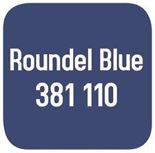 BRITISH STANDARD 381C 110 CELLULOSE PAINT  ROUNDEL BLUE 2.5L
