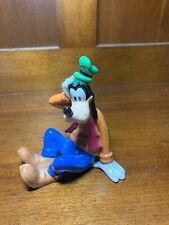 "Ver Rare Vintage Disney Goofy Ceramic Figure Figurine, 4"" Tall, Wondering Goofy"