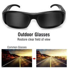 Profi 1080P Sportkamera Sonnenbrille Brille Kamera Kamerabrille Video Recorder