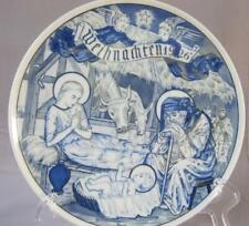 Rare Vintage KPM Berlin Plate Weihnachten 1926 Christmas Exquisite