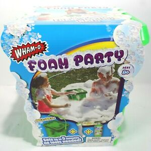 Wham-O Foam Party Outdoor Water Toy Includes Solution New Unopened Wham O