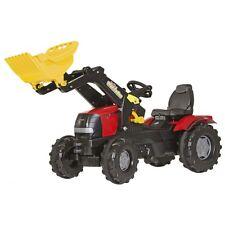 Rolly Toys CASE PUMA CVX 225 con Front TERNE TRATTORE tretttraktor ROSSO