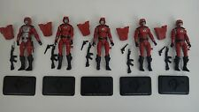 GI JOE 2008 Crimson Guard Army Builder Pack Complete