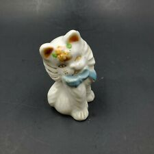 Vintage Long Haired Persian Himalayan Cat Kitten Figurine Made In Japan