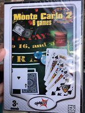 Monte Carlo 2 - 6 Computer Spiele Kartenspiele PC CD-ROM-Spiel gratis!
