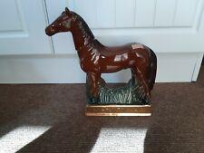 Nouvelle annonce Large horse decanter Man O War racehorse excellent  condition