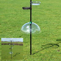 Universal Bird Feeder Station Baffle Dome Stop Squirrel Stealing Bird Feed Guard