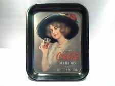 Vintage Coca-Cola Hamilton King Girl Serving Tray