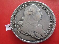 Bayern 1786 Madonnentaler Silber  Karl Theodor 1777-1799 Taler Patrona Thaler
