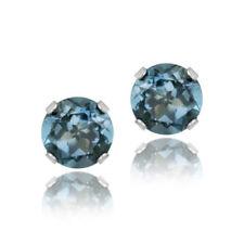 London Blue Topaz Heat & Pressure White Fine Jewellery
